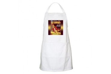 Gay Cowboy BBQ Humor Apron by CafePress