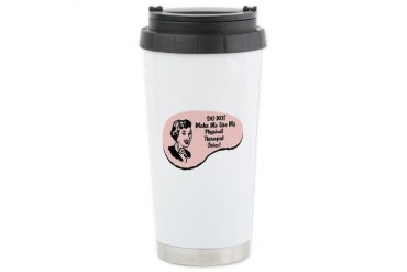 Physical Therapist Voice Ceramic Travel Mug
