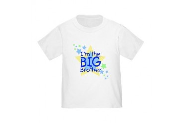 I'm the Big Brother (stars) Toddler T-Shirt