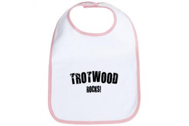 Trotwood Rocks Ohio Bib by CafePress