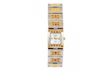 Omax JES544SG Alloy Silver & Gold Watch