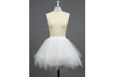 Women/Girls Tulle Netting/Polyester Short-length 3 Tiers Petticoats (037033976)
