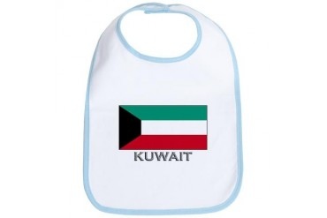 Flag of Kuwait Flag Bib by CafePress