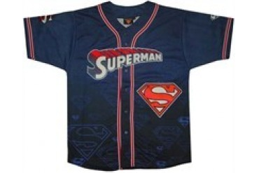Superman Baseball Jersey