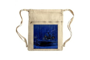 Christmas Sack Pack Art Cinch Sack by CafePress