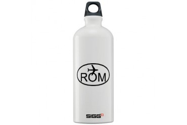 rome airport.jpg Car Sigg Water Bottle 1.0L by CafePress