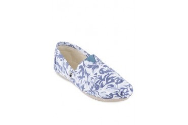 Hillary Floral Camouflage Slip-ons