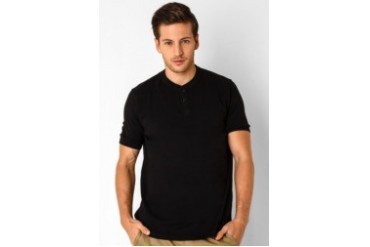 Noir Sur Blanc Mens Oneck T-Shirt Short Sleeve
