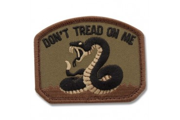 "Mil-Spec Monkey ""Don't Tread On Me"" Gadsden Flag Patch - Forest"