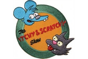 Simpson's Itchy & Scratchy Show Patch