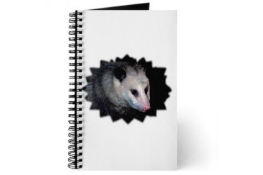 Awesome Possum Cool Journal by CafePress