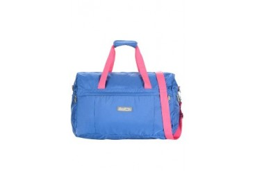 Dk. Blue/ Fuchsia/ Charcoal Travel Bag