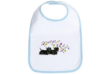 Scottie Magic Pets Bib by CafePress