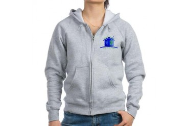 Giving the Gift of Home Family Women's Zip Hoodie by CafePress