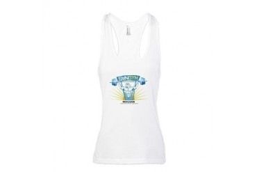 Sunset Gym Racerback Tank Top