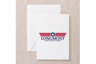 Longmont Pride Colorado Greeting Card by CafePress