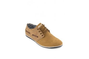 Emruti Woven Lace-Up Shoes