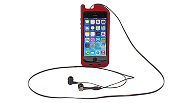 Retractable Headphone Case for iPhone